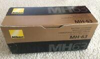 Genuine Nikon Mh-63 Battery Charger For Nikon En-el10 Lithium-ion Battery