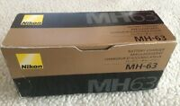 Genuine Nikon Mh-63 Battery Charger For Nikon En-el10 Lithium-ion Battery