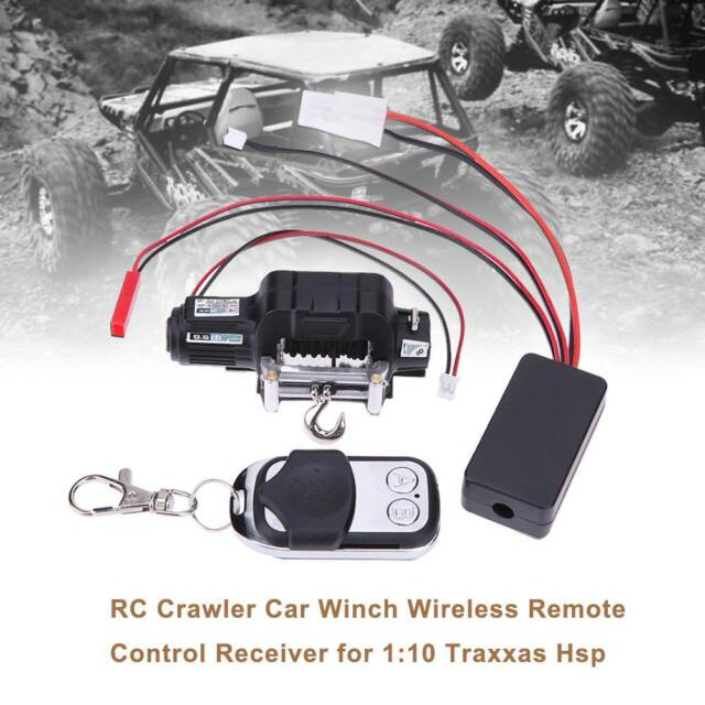 For 1:10 Traxxas Hsp RC Crawler Car Winch Wireless Remote Control Receiver