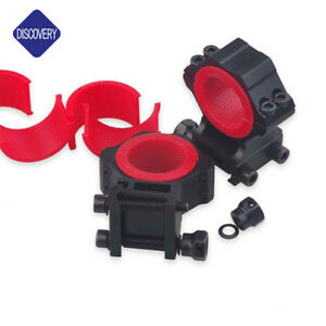 Low Profile 25.4mm 30mm 34mm Rifle Scope Mount Ring fit Dovetail 11mm Rail
