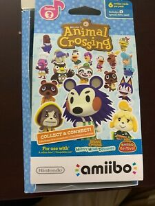 Amiibo Animal Crossing Cards Series 3 (1 Pack of 6 Cards) BRAND NEW UNSCANNED