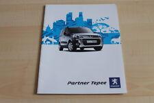 102465) Peugeot Partner Tepee Prospekt 07/2009