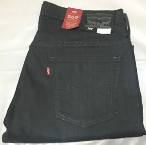6d7cbf5a NWT MEN'S LEVI'S 569 0299 LOOSE STRAIGHT LEG STRETCH JEANS PANT ...