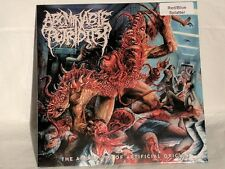 Abominable Putridity - The Anomalies Of Artificial Orgin - 2015 - Blue/Red Vinyl