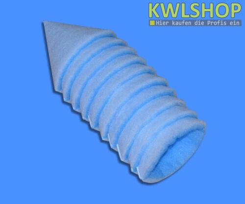 filterstärke ca 10 Kegelfilter G3 DN 125 15-18mm 150mm lang für Tellerventile