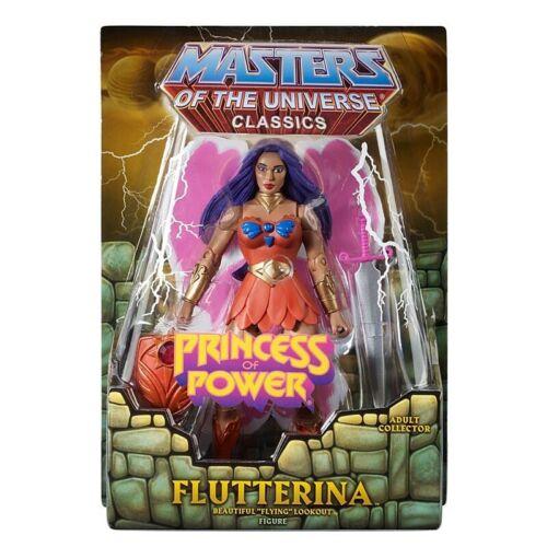 Masters of the Universe Classics FLUTTERINA Princess of Power Figure MOTU BHG34