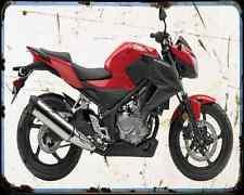 Honda Cb300F 15 A4 Photo Print Motorbike Vintage Aged