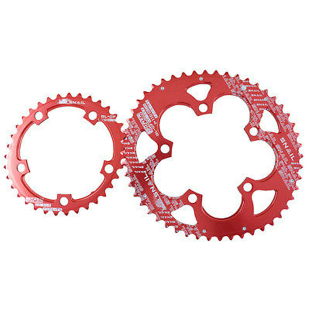 Oval Chainring Bike Bicycle Chain Rings 35T 50T 110BCD Crankset Tooth Plate