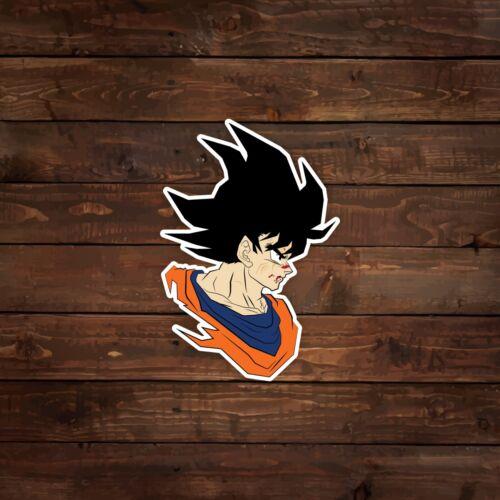 Goku Vector Illustration Dragon Ball Z Decal//Sticker