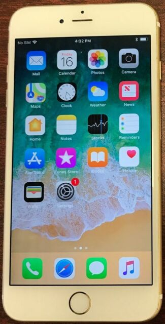 Apple Iphone 6s Plus 64gb Gold Unlocked A1687 Cdma Gsm For Sale Online Ebay