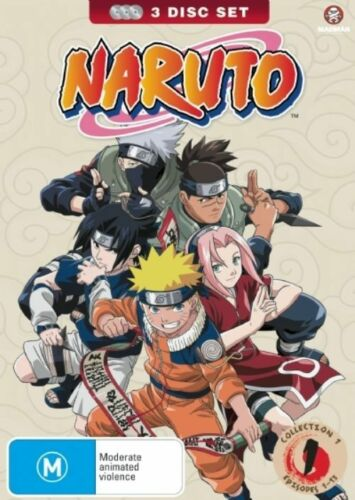 1 of 1 - Naruto : Collection 1 : Eps 01-13 (DVD, 2008, 3-Disc Set) - Region 4