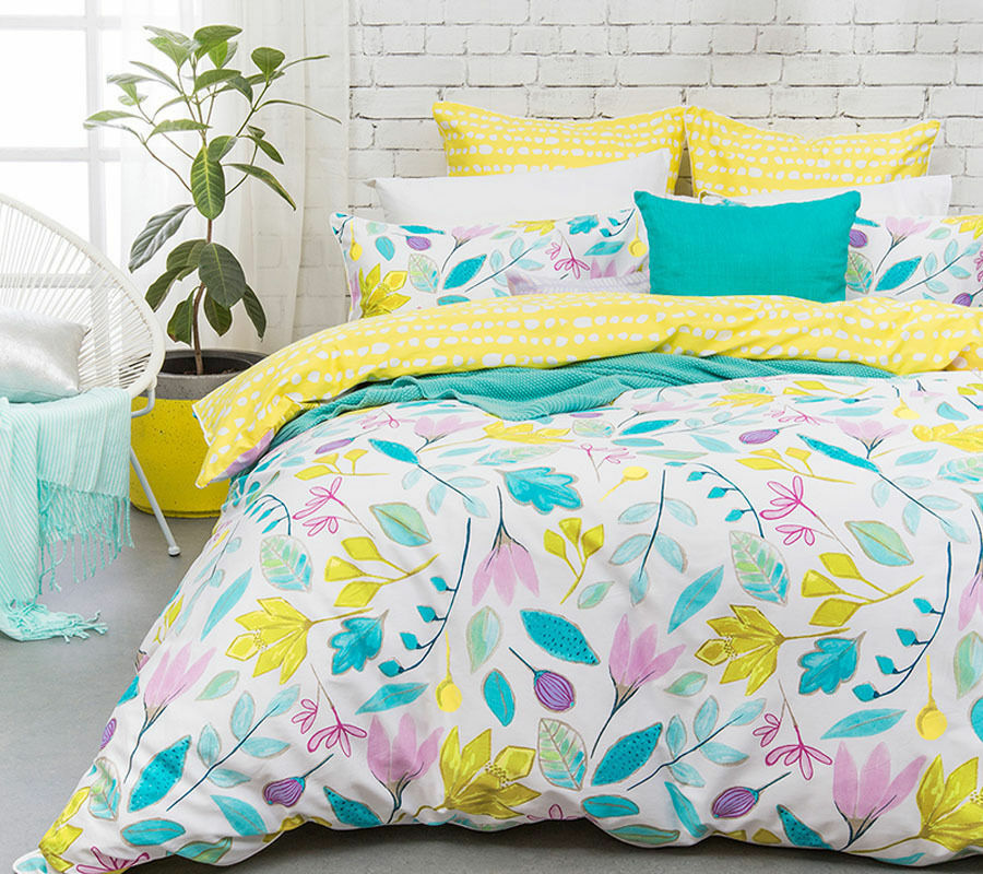 Bambury pinklyn 300TC Quilt Doona Cover Set  SINGLE DOUBLE QUEEN KING Super KING