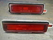 1982-1992 Firebird/trans am páginas luminarias/Sidemarker lamps, detrás/rojo, ORIG. gm
