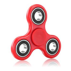 Tri Fidget Hand Spinner Focus Desk Toy EDC ADHD Autism KIDS ADULT LED