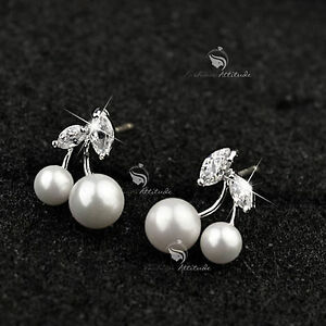 18k-gold-gp-925-silver-made-with-Swarovski-crystal-pearl-cherry-stud-earrings