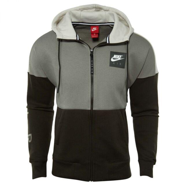 Nike Air Fleece Hoodie Mens 886044-004 Dark Stucco Sequoia Bone Hoody Size  XL 4a2b5e04c1