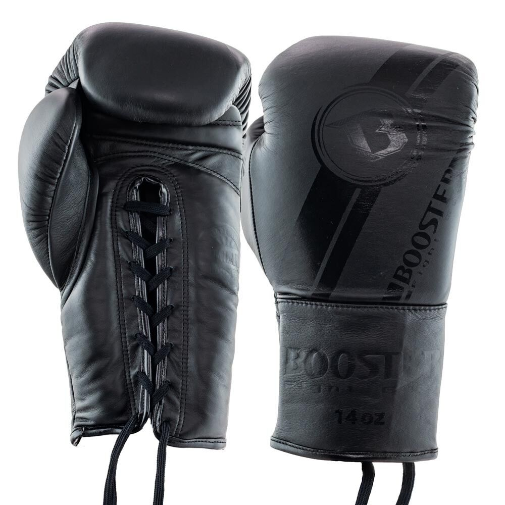 BOOSTER Pro BGL v3 DARK SIDE laces, cuoio, 14oz16oz. BOX. MUAY THAI. k1.