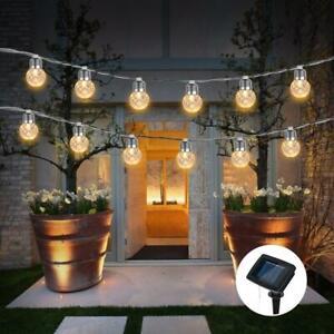 Solar-Garden-LED-String-Fairy-Lights-Wedding-Party-Festoon-Ball-Bulbs-Lamps