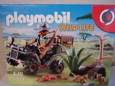Playmobil Wild Life 6939 Cazadores furtivos con Quad - nuevo y emb. orig.