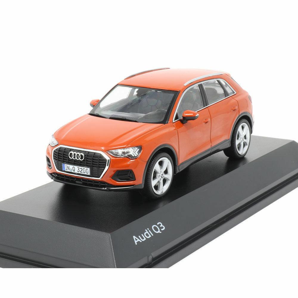 Audi Q3 Pulse orange 1 43 Model Car 5011803632 Genuine New