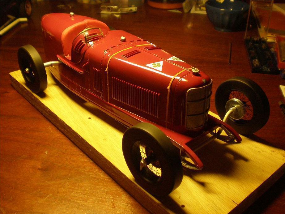 1 12 KIT Alfa Romeo P2 Grand Prix Monza 1924 ( Ascari ) .