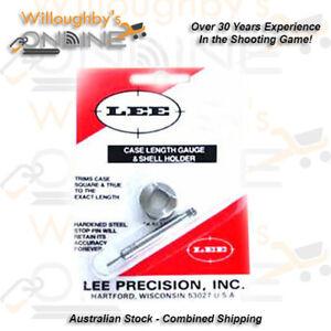 Lee-Precision-243-Winchester-Case-Length-Gauge-amp-Shell-Holder-Reloading-Gear