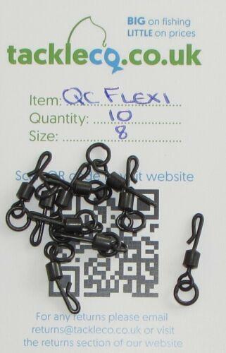 Tackleco Quick Change Flexi Ring Swivels