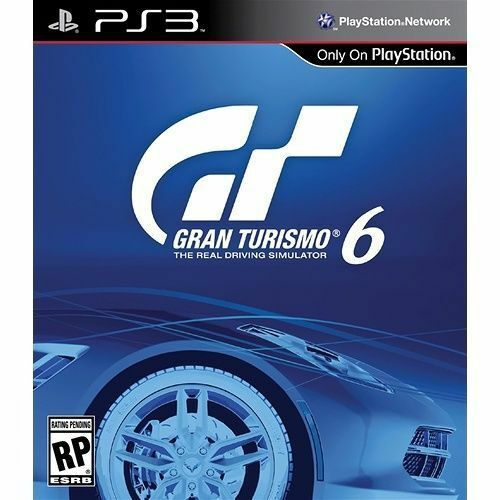 Gran Turismo 6(Sony Playstation 3, 2013)Comes with tracking and protective envel