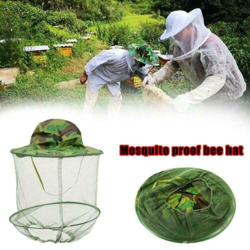 Beekeeping Beekeeper Cowboy Hat Mosquito Bee Insect Face Veil Protector Net V8J7