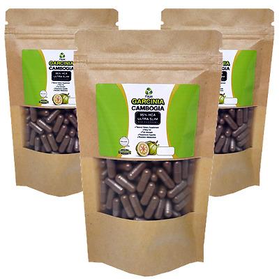 100% Pure Garcinia Cambogia 3000mg 95% HCA~WEIGHT LOSS~FAT BURNER, Free Shipping