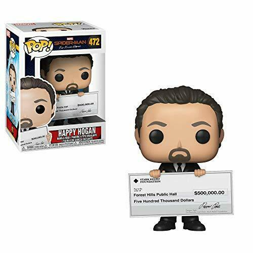 Funko 40157 POP Marvel Spider-Man Far from Home-Happy Hogan Collectible Figure,