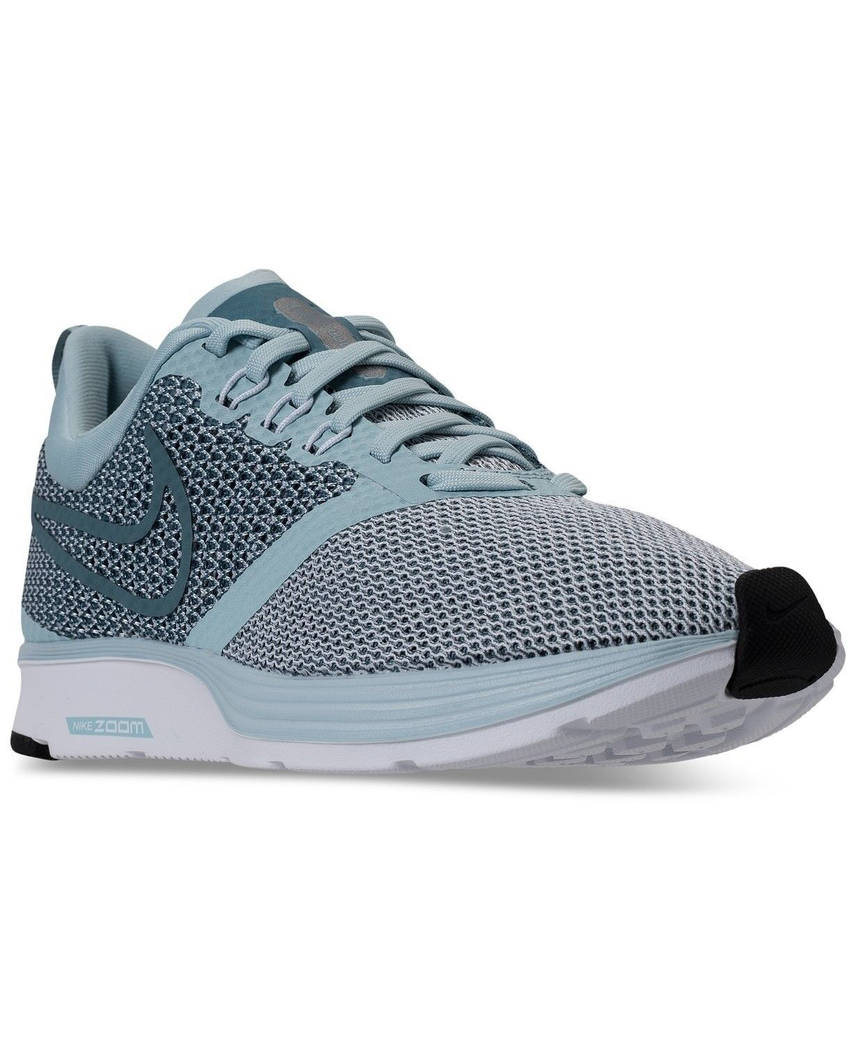 Women Athletic Sneakers Zoom Strike Running Shoes Light Blue AJ0188401