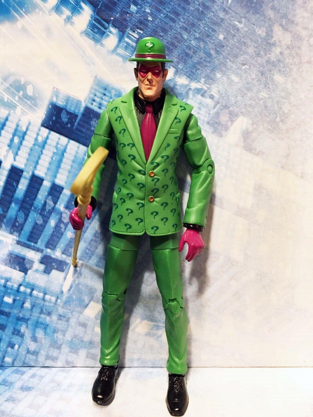 DC Classics RIDDLER Figure LOOSE Metallo wave 5 Legends Batman JLA 2008