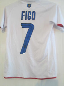 watch 42a44 7bfc2 Details about Inter Milan 2007-2008 Centenary Figo Football Shirt Size BOYS  KIDS Large /40660