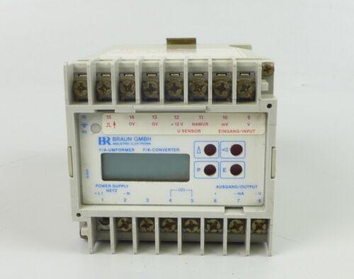 HA992 Programmierbarer Messumformer Braun D421.31 D1 24V DC