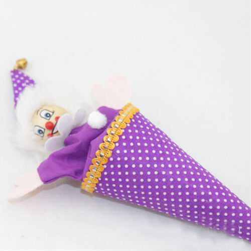 Funny Retractable Wooden Clown Smiling Face Hide and Seek Play Toy k
