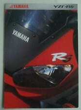YAMAHA YZF-R6 600cc Motorcycle Sales Brochure c2000 #3MC-0107013-00E