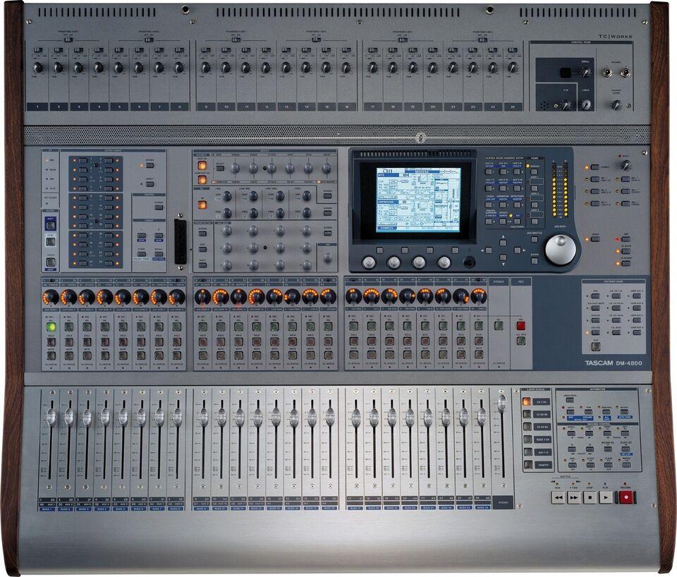 Digital Mixer, Tascam DM4800