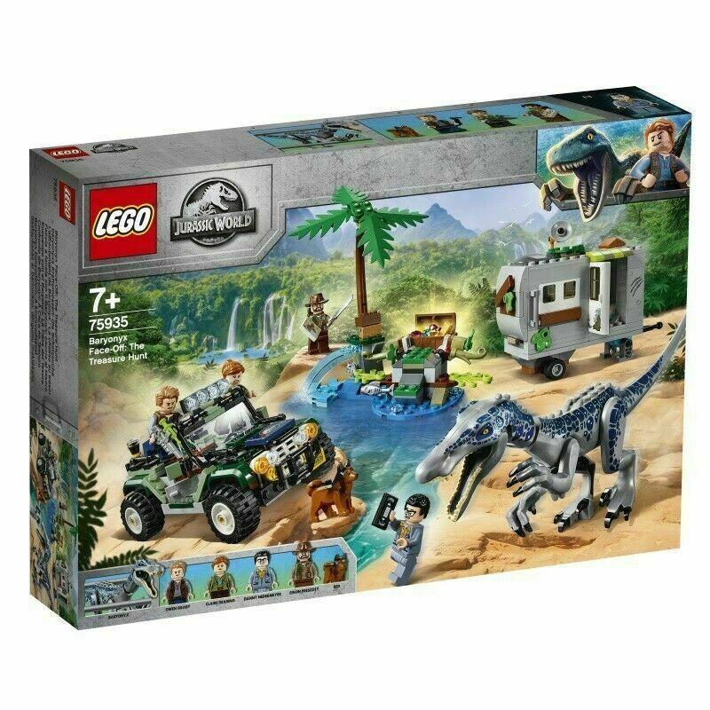 LEGO 75935  Jurassic Baryonyx Face-Off   The Treasure Hunt  magasin fait l'achat et la vente