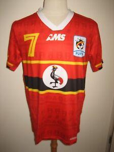 FUFA-Uganda-rare-Africa-7-football-shirt-soccer-jersey-maillot-trikot-size-M