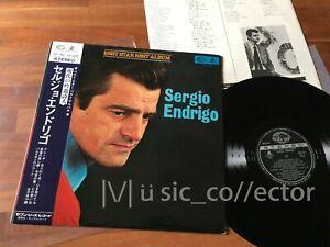 D74-SERGIO-ENDRIGO-Best-star-best-album-Japan-LP-Obi-Vinile-come-nuovo-raro