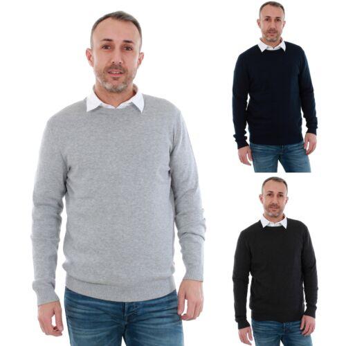 Jack/&Jones Hombre Jersey larga Cuello redondo 20838