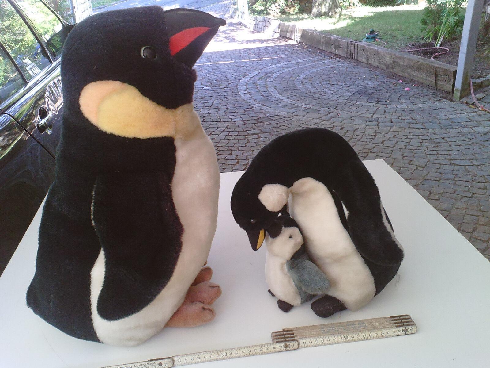 Plüschtier 53 Pinguin Plüti 53 Plüschtier + 32 cm, neuwertig siehe Text, Kuscheltier Plüsch c8eb4e