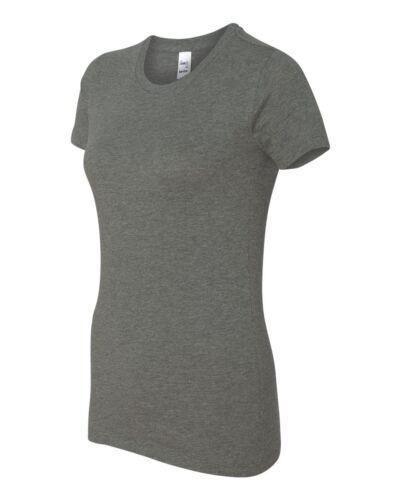 Canvas Womens The Favorite Tee Short Sleeve Ladies T-Shirt S-2XL Bella 6004