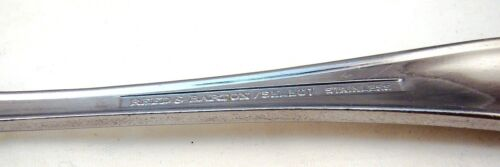 """Reed /& Barton Select Stainless Steel SOLANGE Oval Soup Spoon s 7 1//4/"""""""