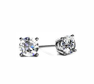 Echtschmuck-Ohrstecker-Diamanten-585-Weissgold-Top-Crystal-Zertifikat-weltweit