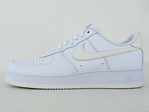 Nike ID Air Force 1 Low tamanho 14 Custom Branco Clássico