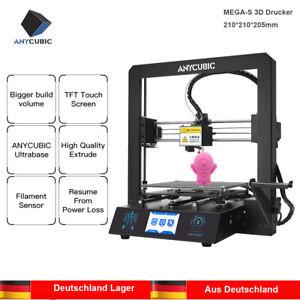 DE-ANYCUBIC-i3-Mega-S-3D-Drucker-Groesserer-Druckgroesse-3-5-Zoll-TFT-1KG-PLA