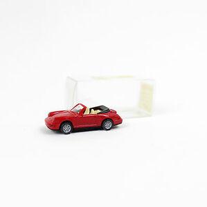1//87 Wiking Porsche 911 Carrera 4 Cabrio pink 165 02