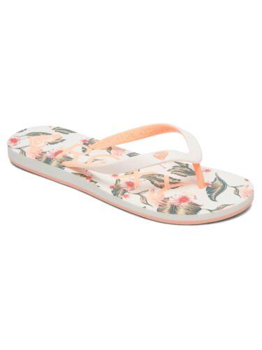 New Tahiti VI Floral Fleuri Tongs Sandales De Plage 9 S 69 g Roxy Femme Flip Flops